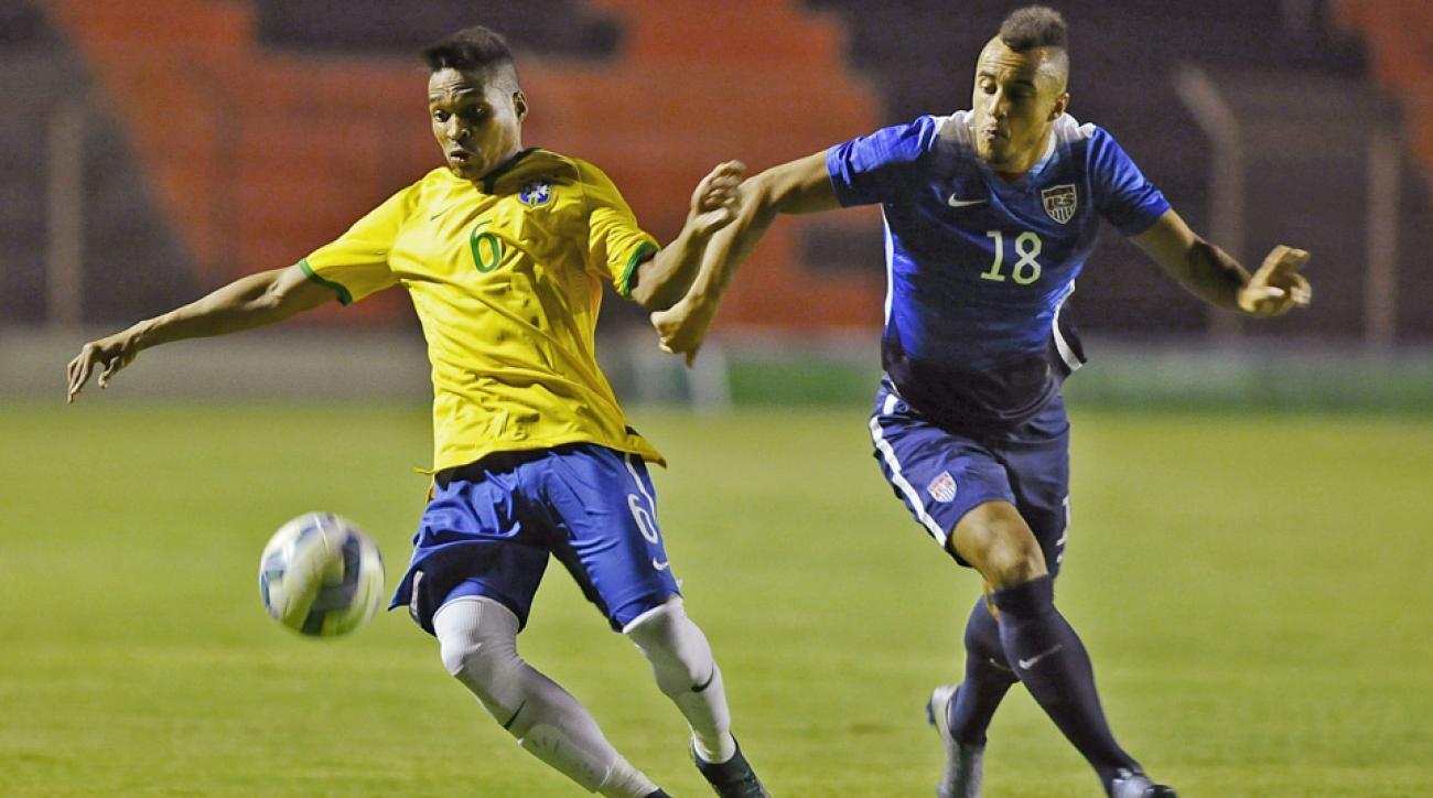 Jerome Kiesewetter, USA vs. Brazil U23