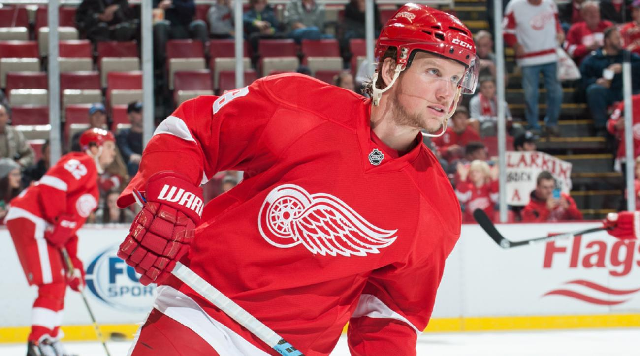 red wings justin abdelkader contract extension
