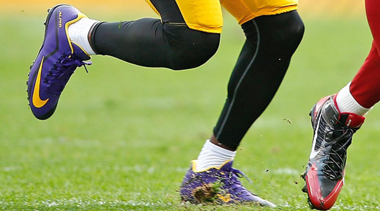 William Gay was fined by NFL for wearing purple shoes.