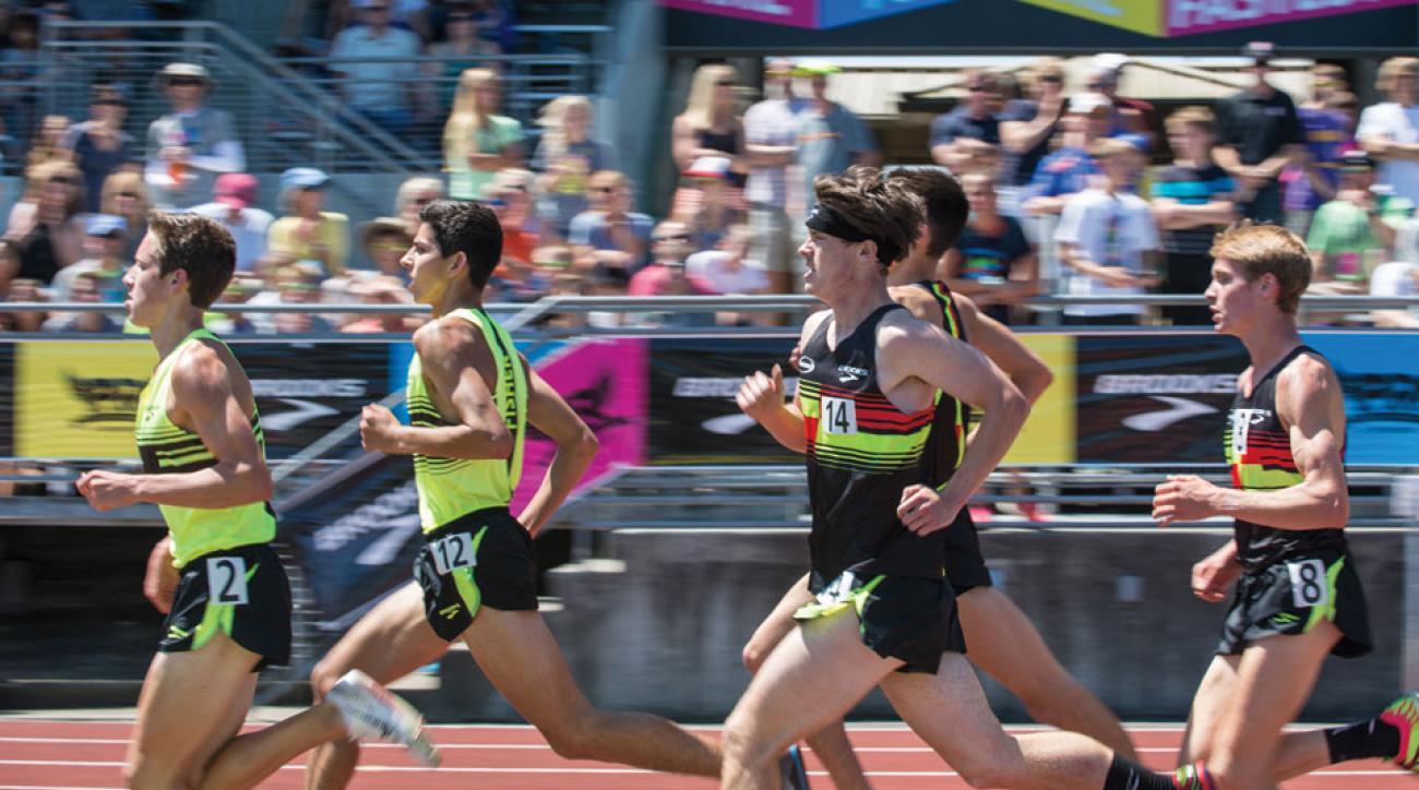 Austin Tamagno leads a field of high school stars at the Brooks PR Invitational in Seattle.