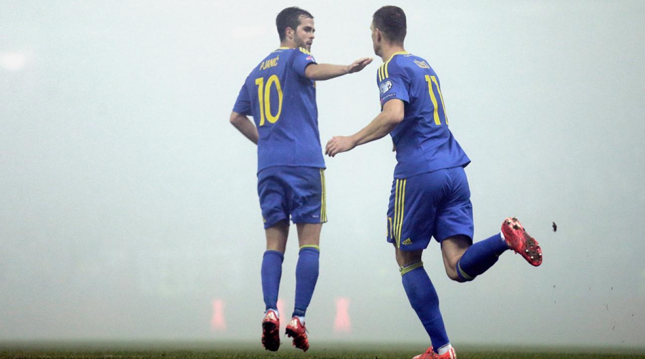 Bosnia-Herzegovina vs. Ireland, Euro qualifying playoff