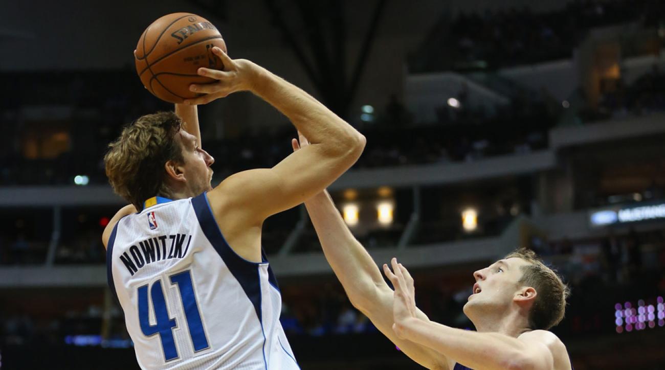 dirk nowitzki dallas mavericks contract retirement
