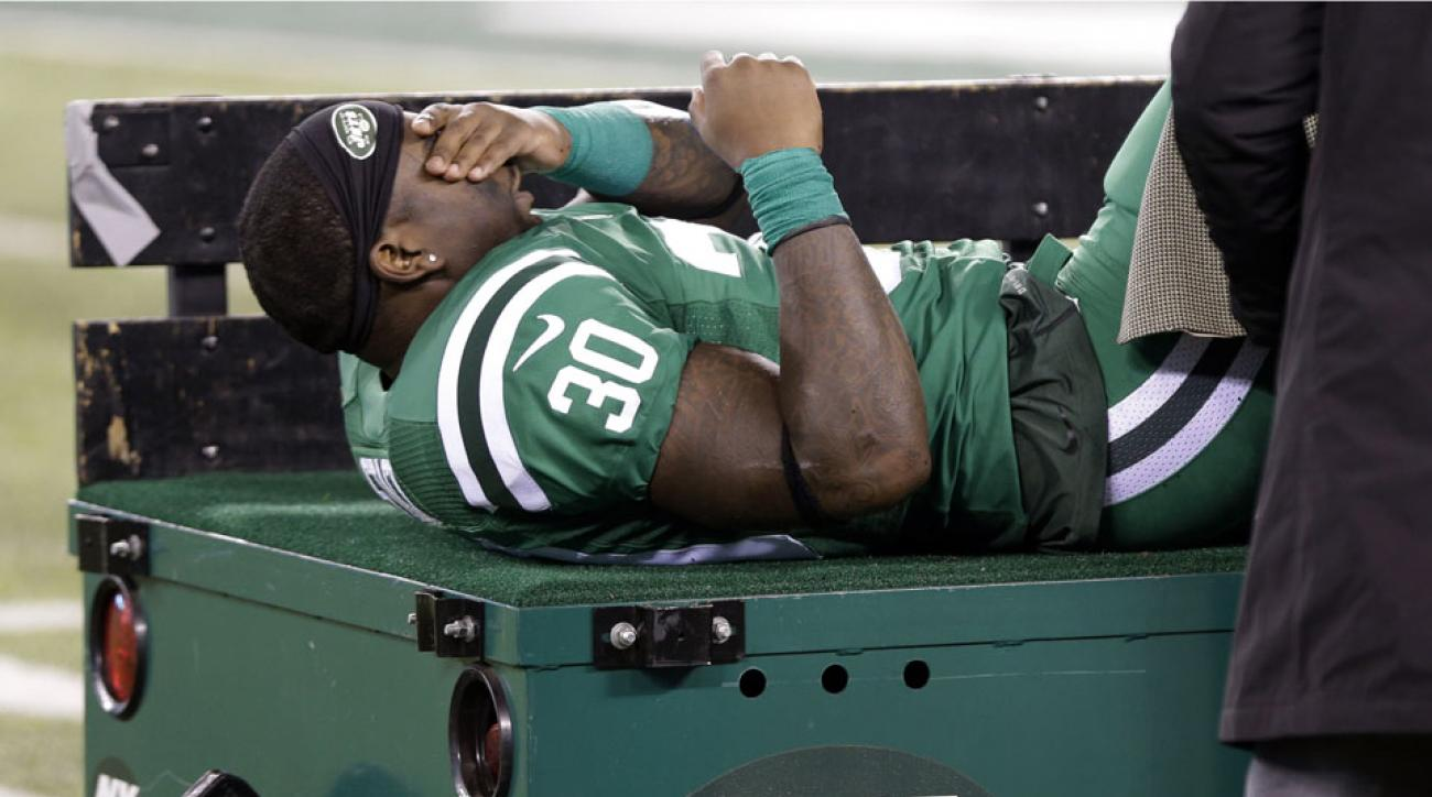 Zac Stacy injury news: Jets RB breaks ankle, out for season