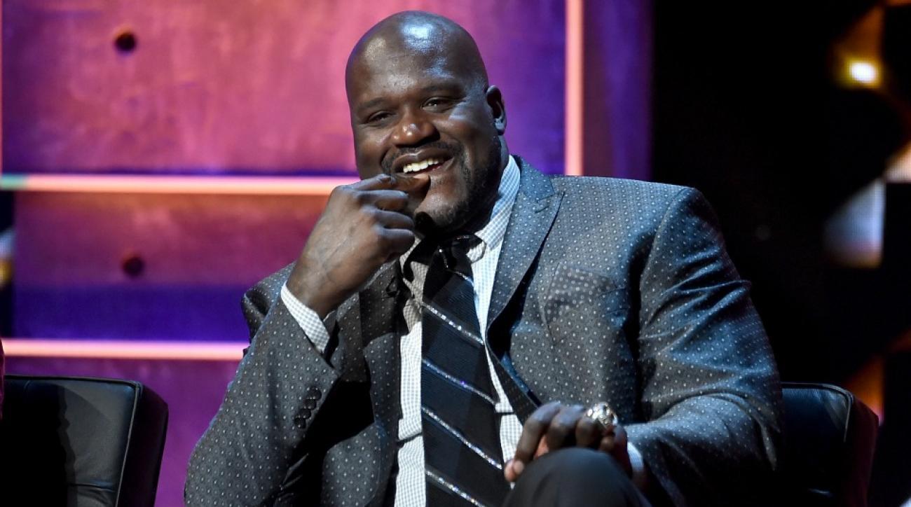 Shaq did not wear pants on the set of NBA on TNT