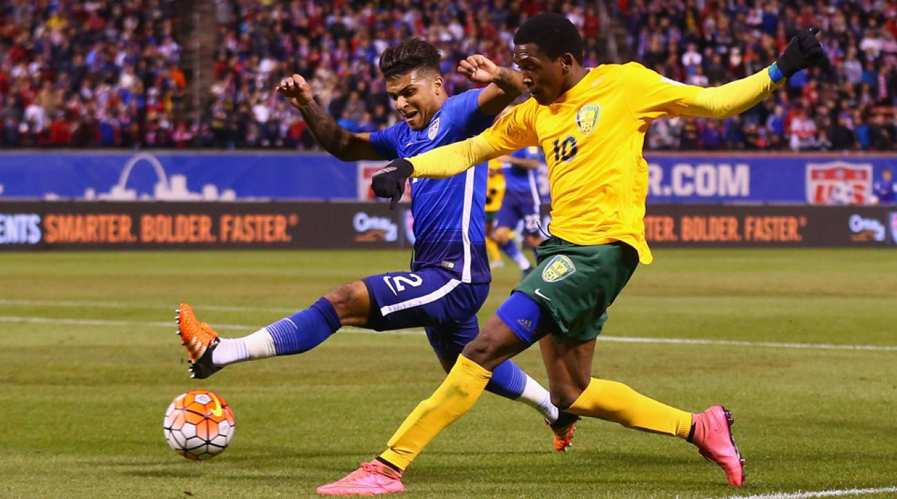 DeAndre Yedlin, Oalex Anderson, USA vs. St. Vincent and the Grenadines