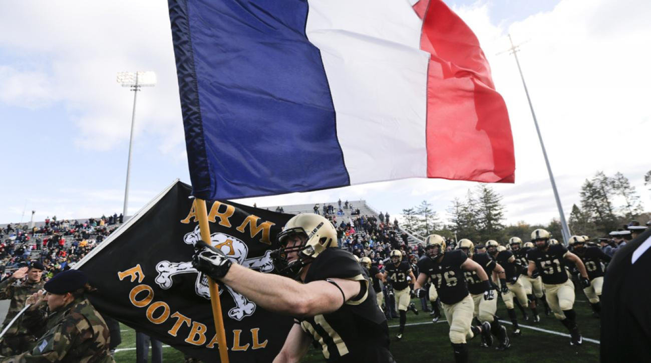 army usa football france attacks