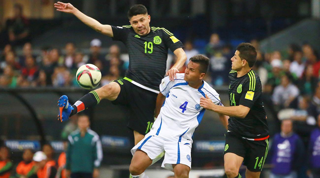 Mexico El Salvador World Cup qualifying