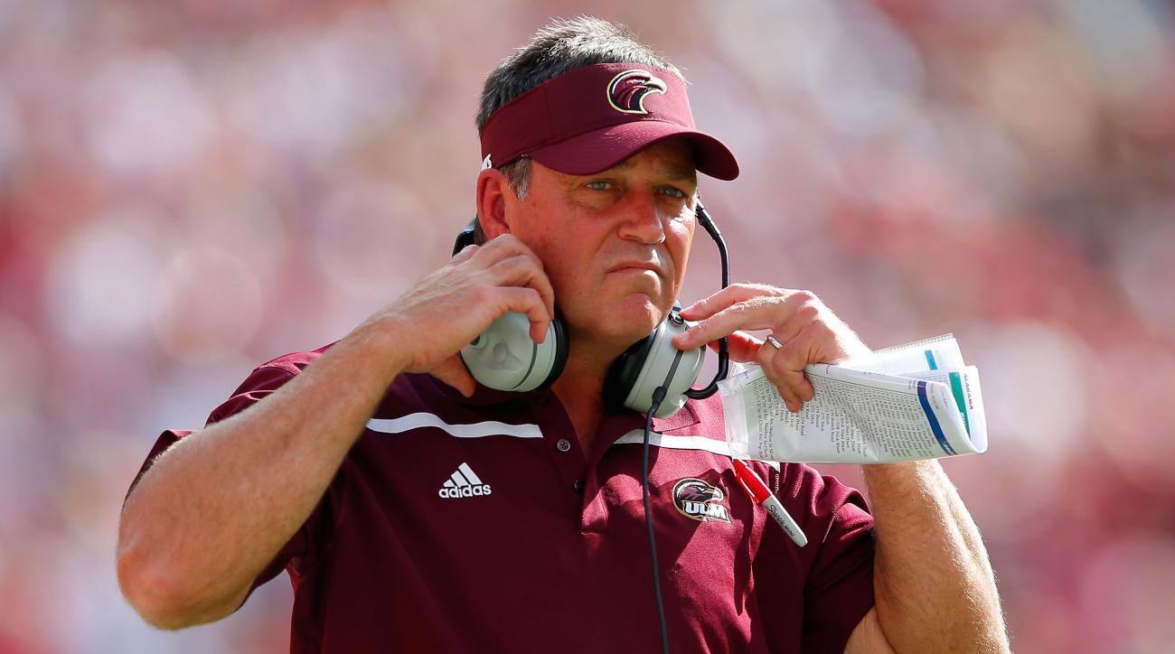 todd berry ulm louisiana monroe coach fired
