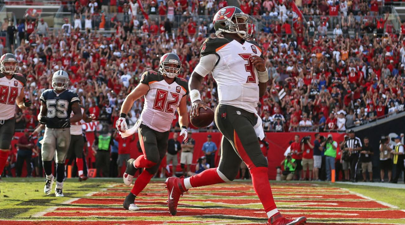 buccaneers game winning touchdown cowboys