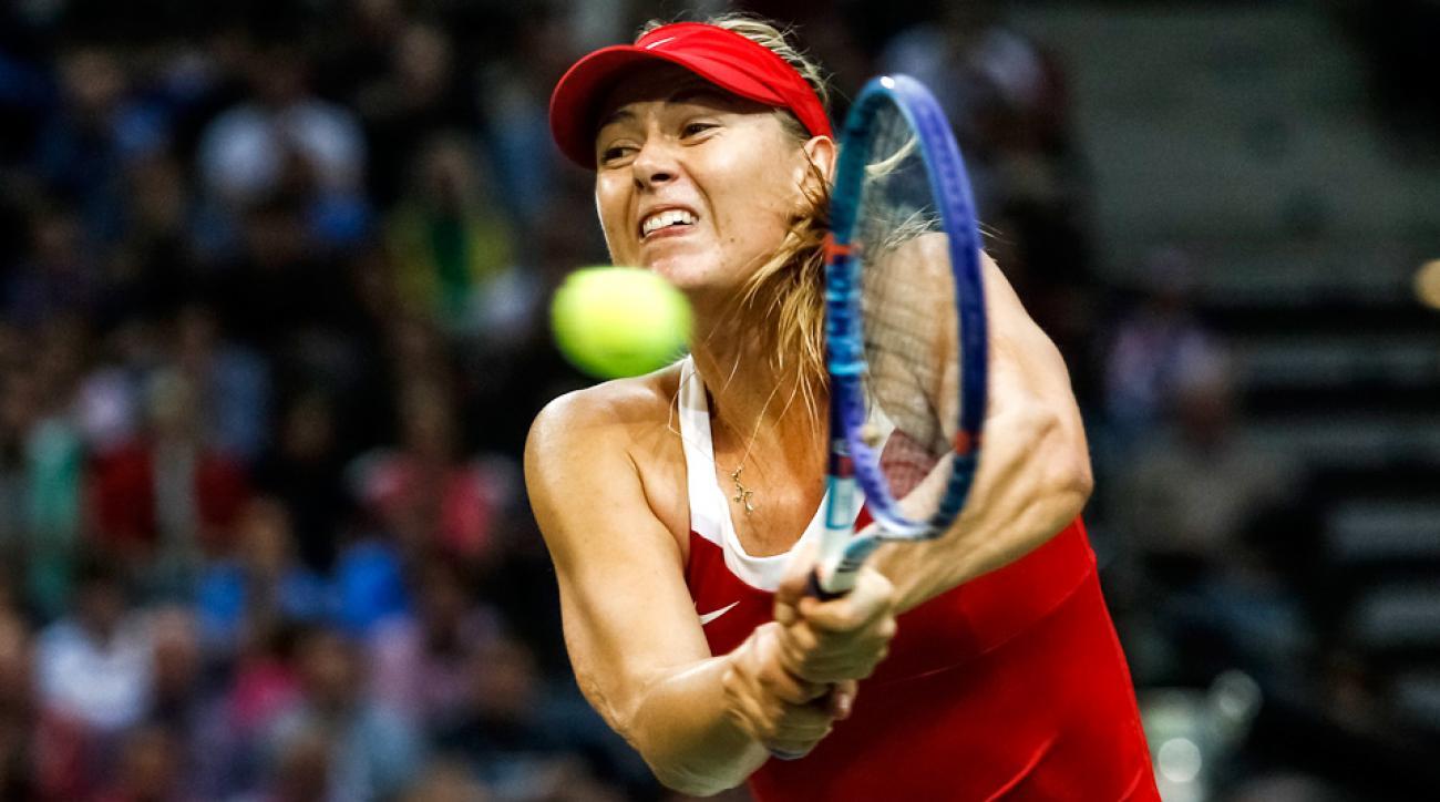 Maria Sharapova Russia Fed Cup final