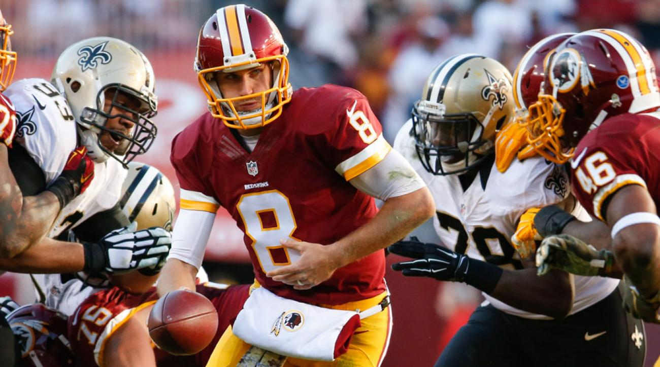 Washington Redskins Kirk Cousins perfect passer rating vs Saints