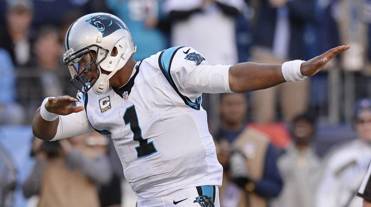 Image result for cam newton dab