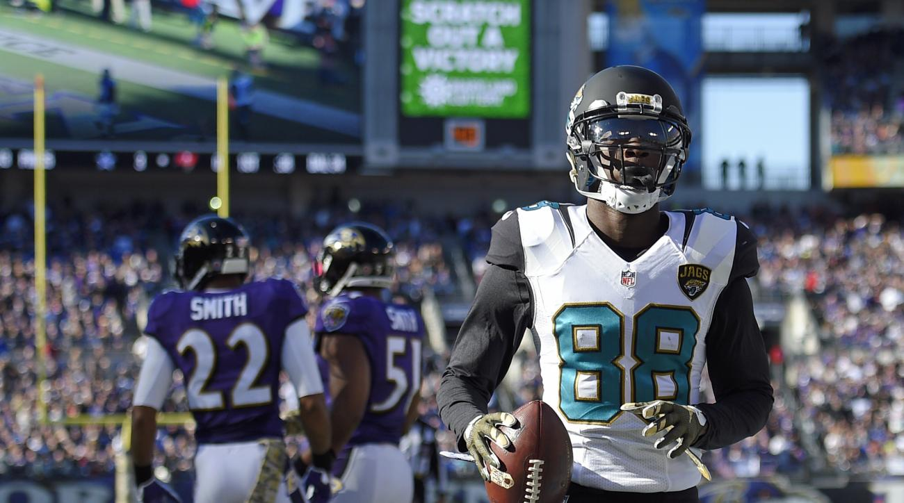 Jacksonville Jaguars WR Allen Hurns has core injury