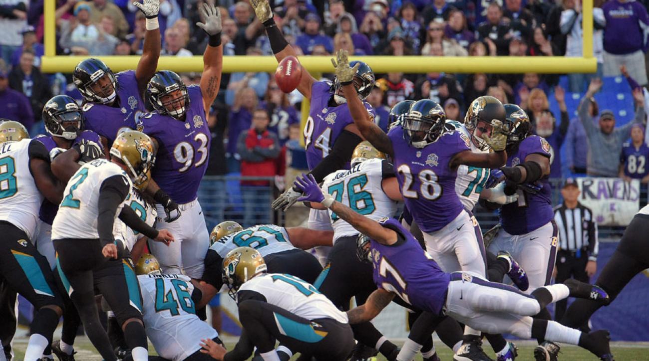 jaguars ravens game winning kick