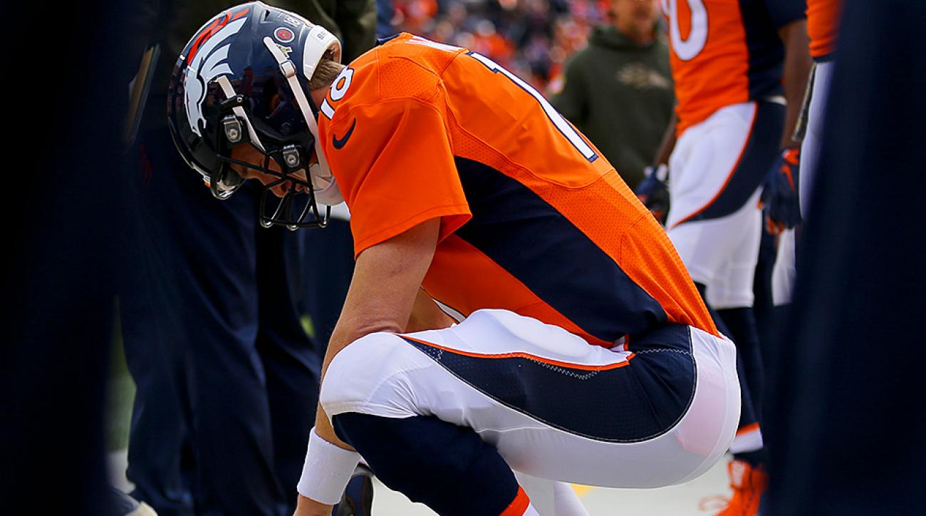 The most graceful exit for the Broncos' Peyton Manning may be to bow out now.