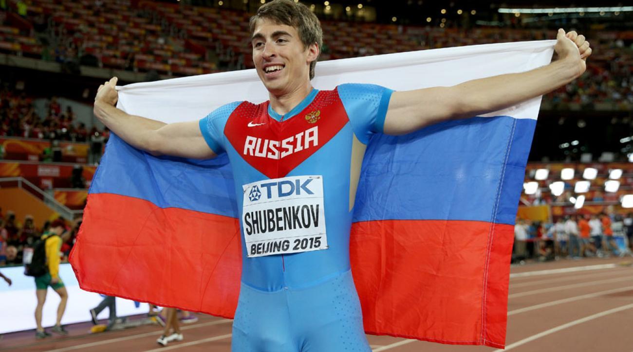 sergey schubenkov russia doping ban poop