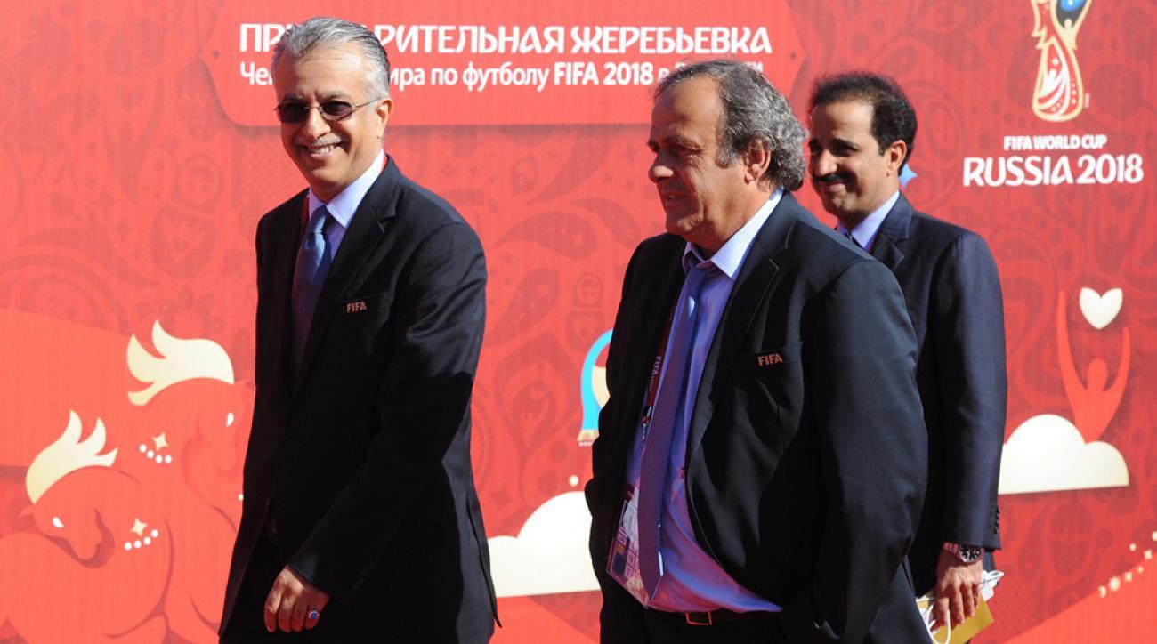 Sheikh Salman, FIFA presidential candidate