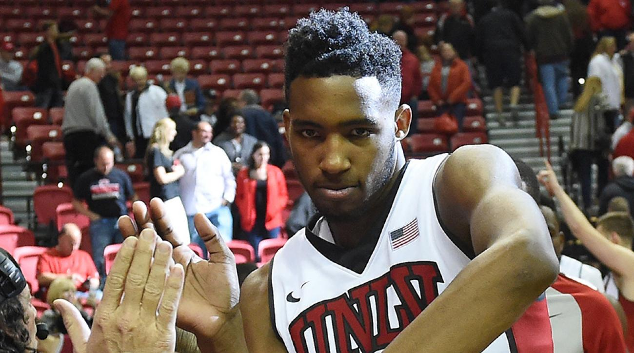 unlv rebels derrick jones dunk video