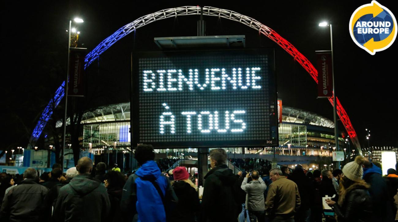 France, England, Wembley Stadium