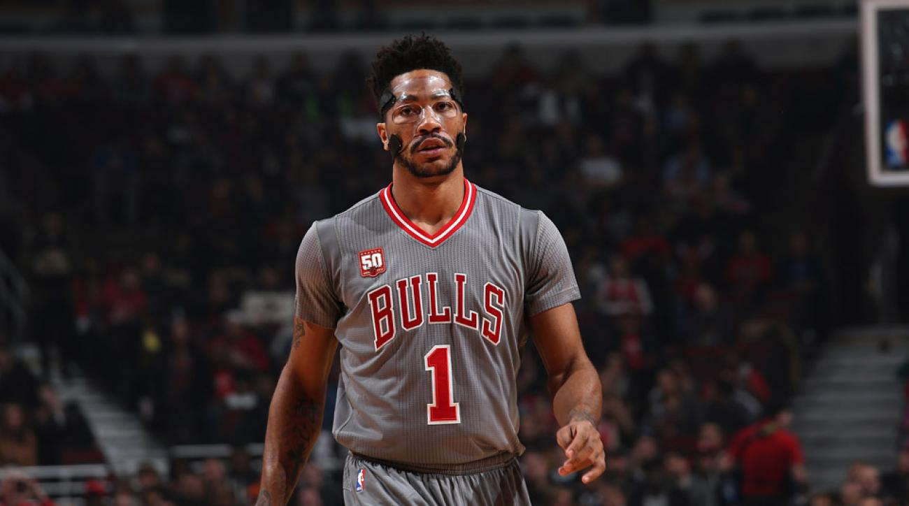 1c20f96e1788 Chicago Bulls  Derrick Rose doubtful with ankle injury