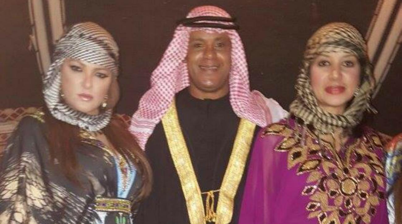 Sammy Sosa held a lavish birthday party in Dubai