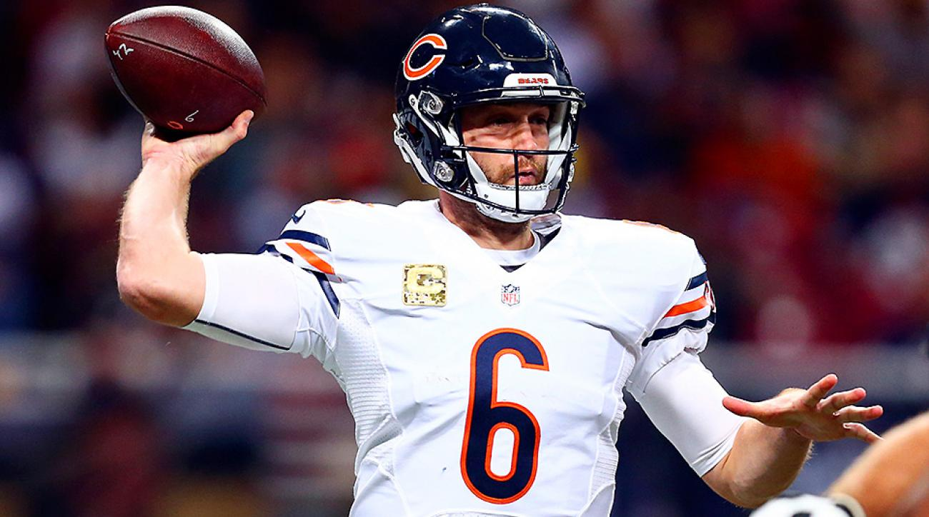A little patience is paying off for Jay Cutler and the Chicago Bears' revived offense.