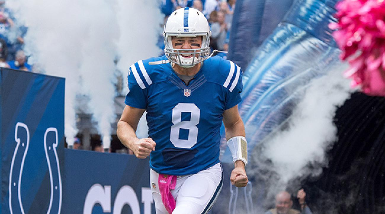 Matt Hasselbeck starts for Colts in place of injured Andrew Luck.