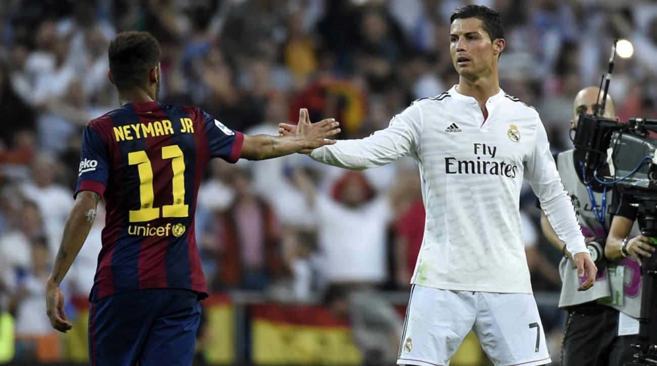 Neymar, Ronaldo, Real Madrid, Barcelona