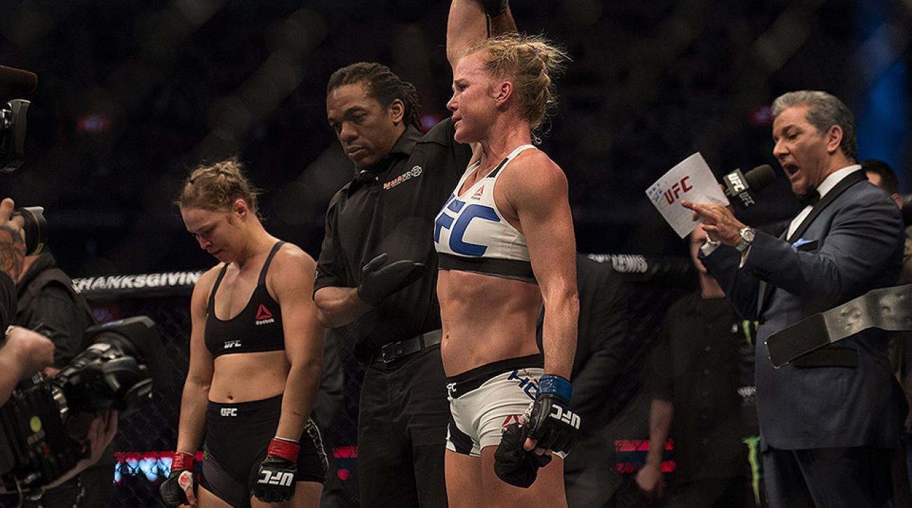 Ronda Rousey loses Holly Holm