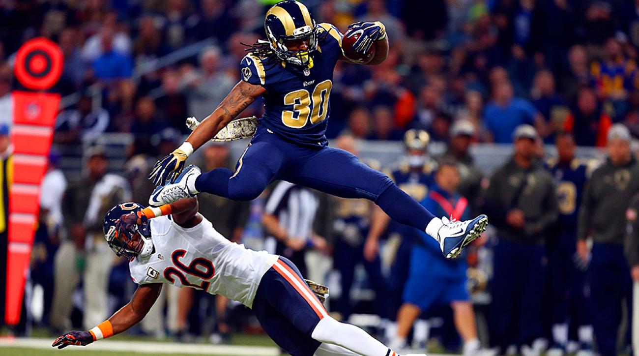 Rookie Todd Gurley is compared to many RB greats, but what makes him special is that he is a blend of all of their best attributes.