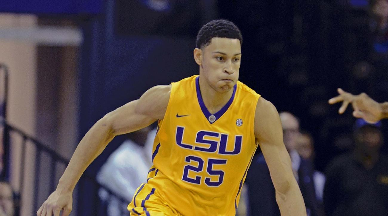 LSU's Ben Simmons is a top NBA draft prospect