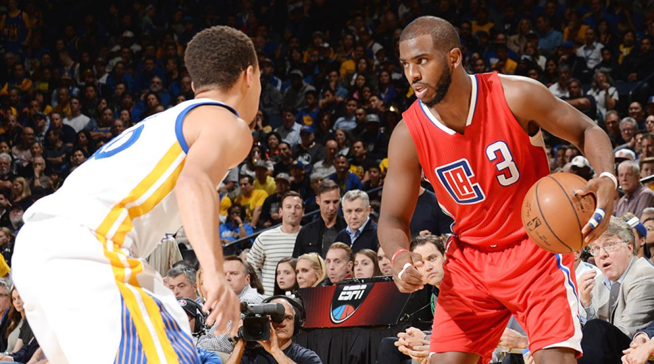 Chris Paul groin Los Angeles Clippers Golden State Warriors