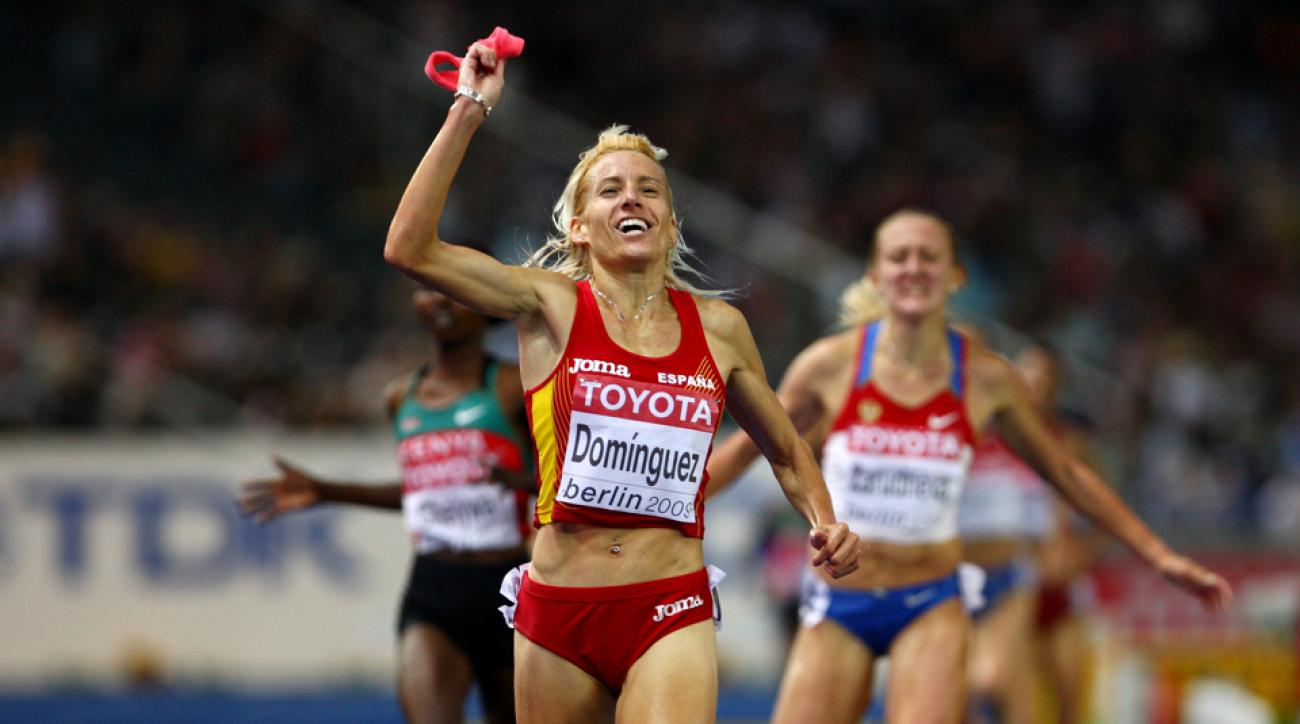 marta dominguez banned doping spain