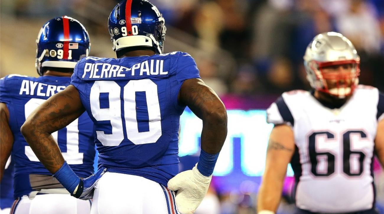 New York Giants' Jason Pierre-Paul facetimed with a 11-year-old amputee