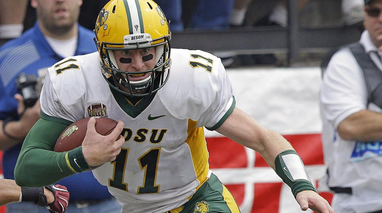 NFL draft podcast: North Dakota State's Carson Wentz and more small-school prospects