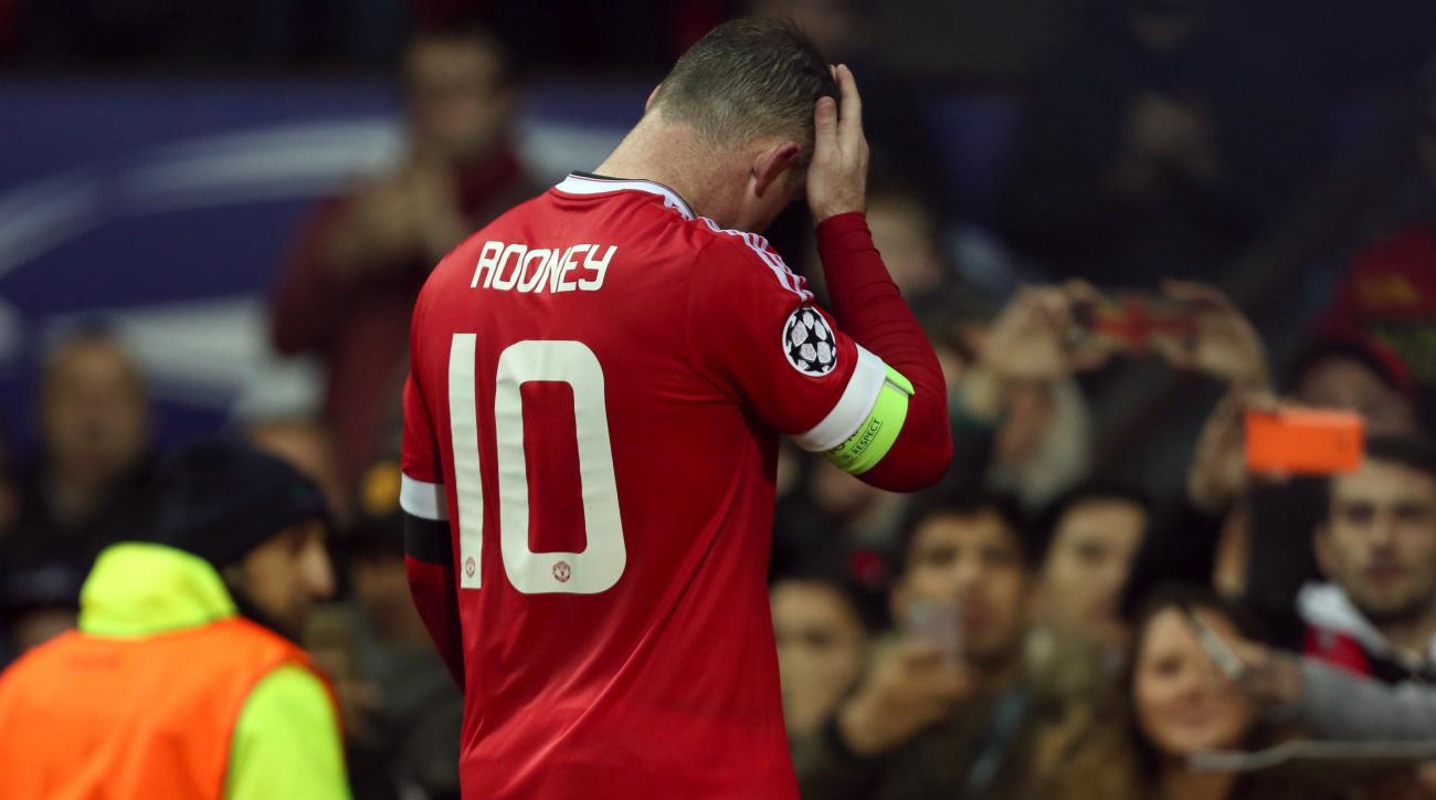 Manchester United Wayne Rooney Anthony Martial out vs Watford