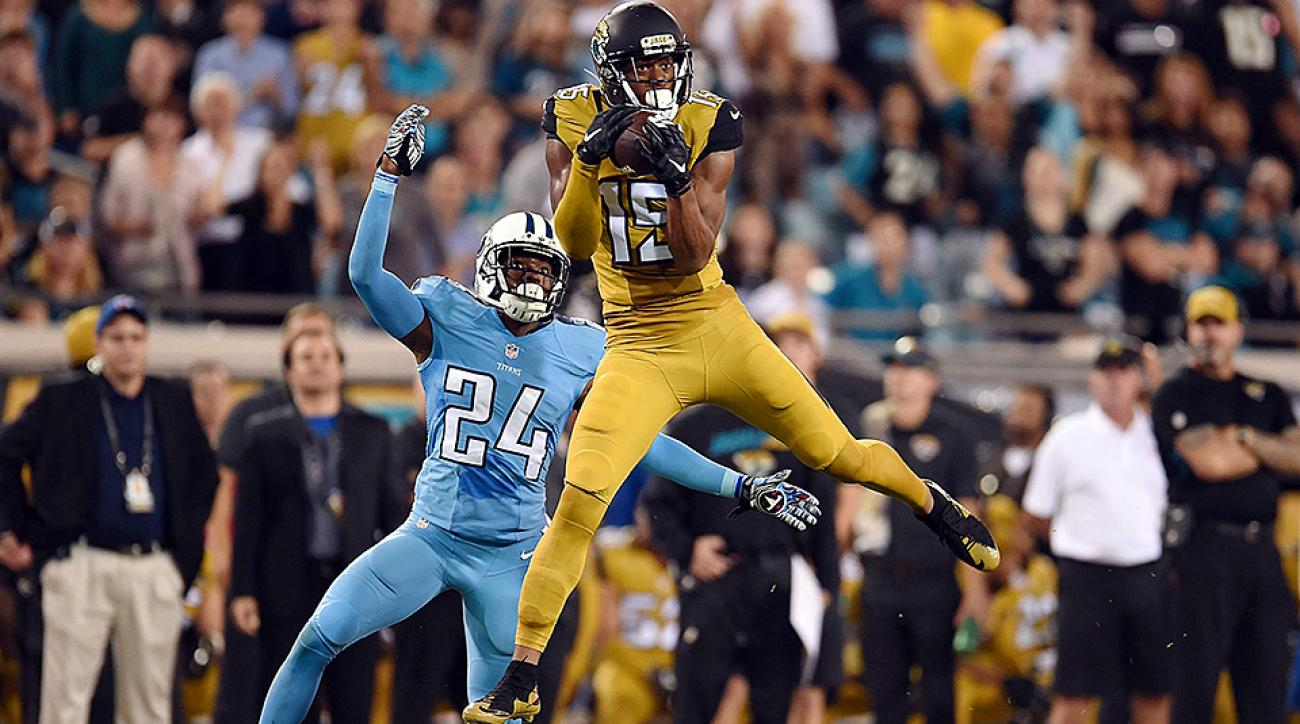 NFL Week 11: Allen Robinson helps lead Jaguars to win over AFC South rival Titans