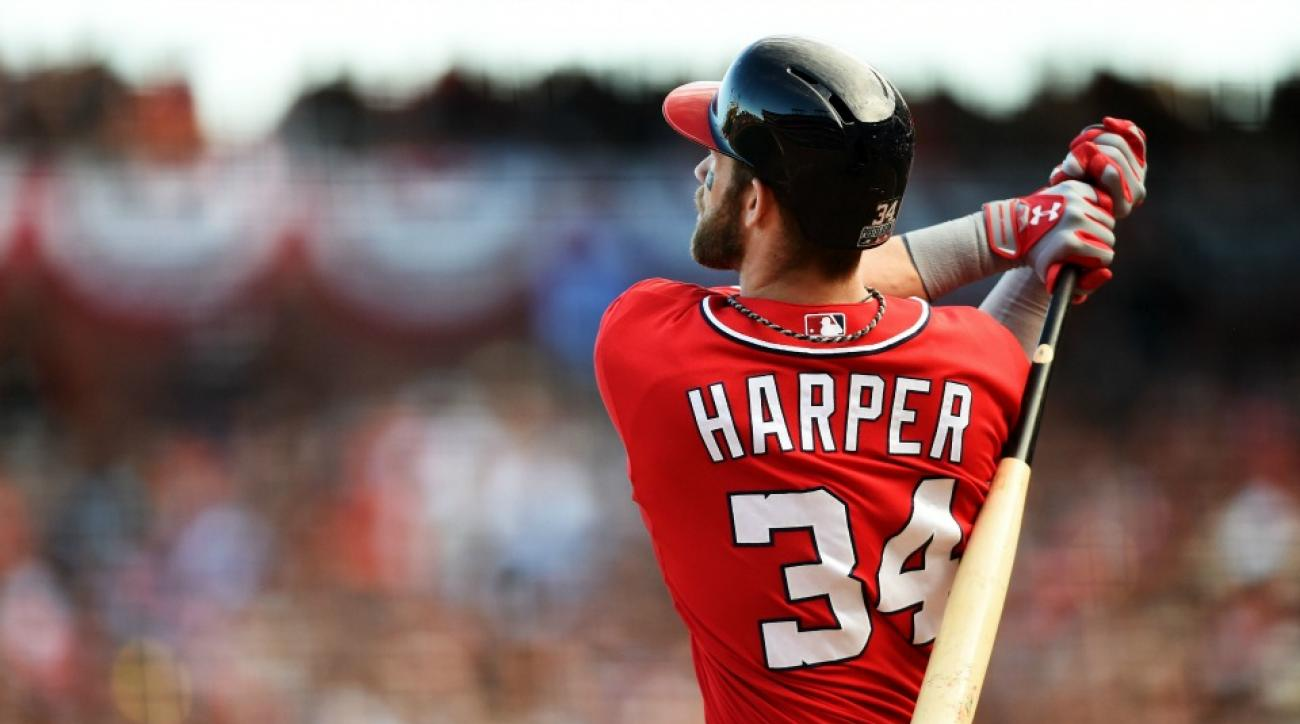 Washngton Nationals' Bryce Harper does not pronounce memes correctly