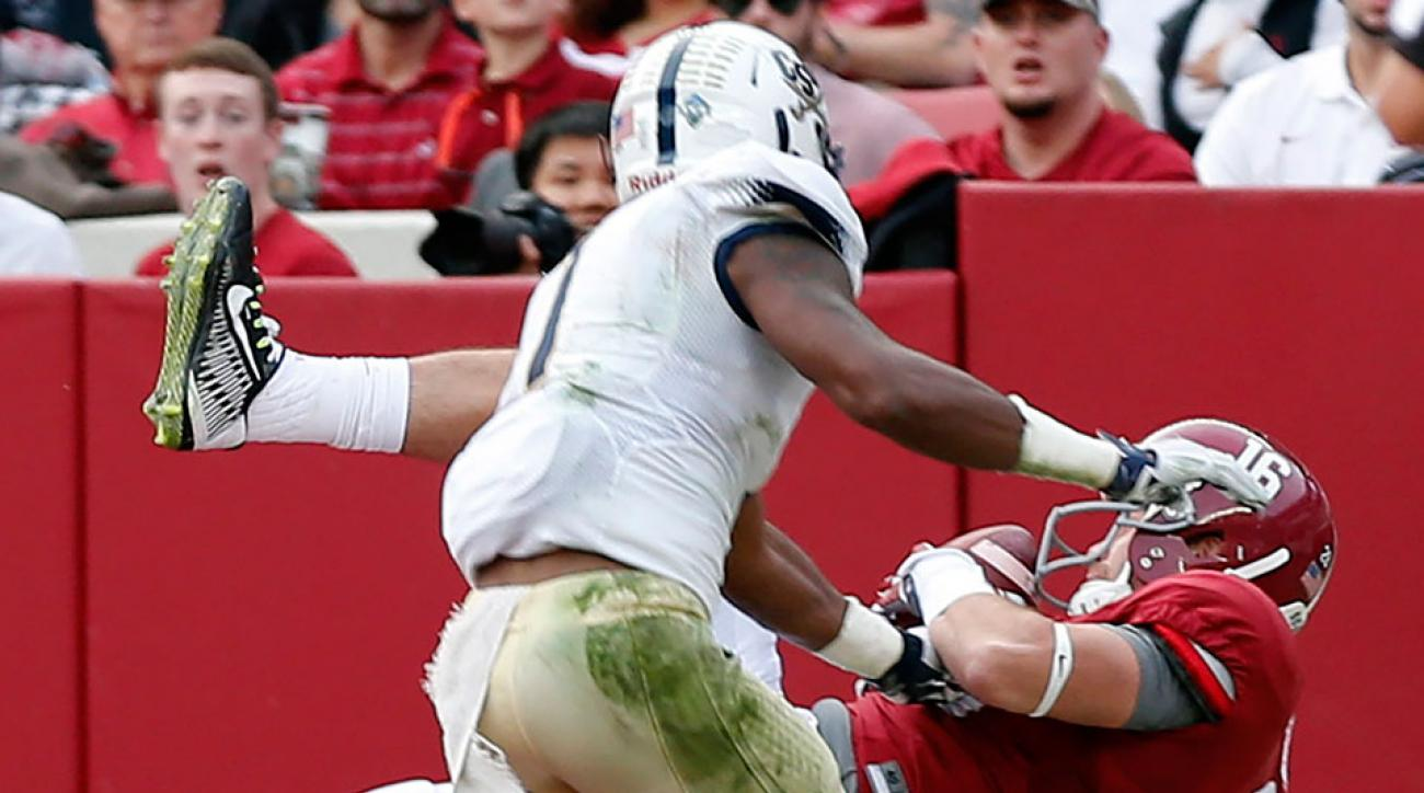 alabama richard mullaney td catch vs charleston southern video