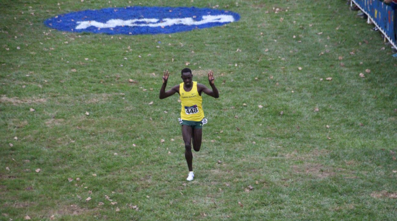 edward cheserek wins third ncaa cross country title oregon ducks