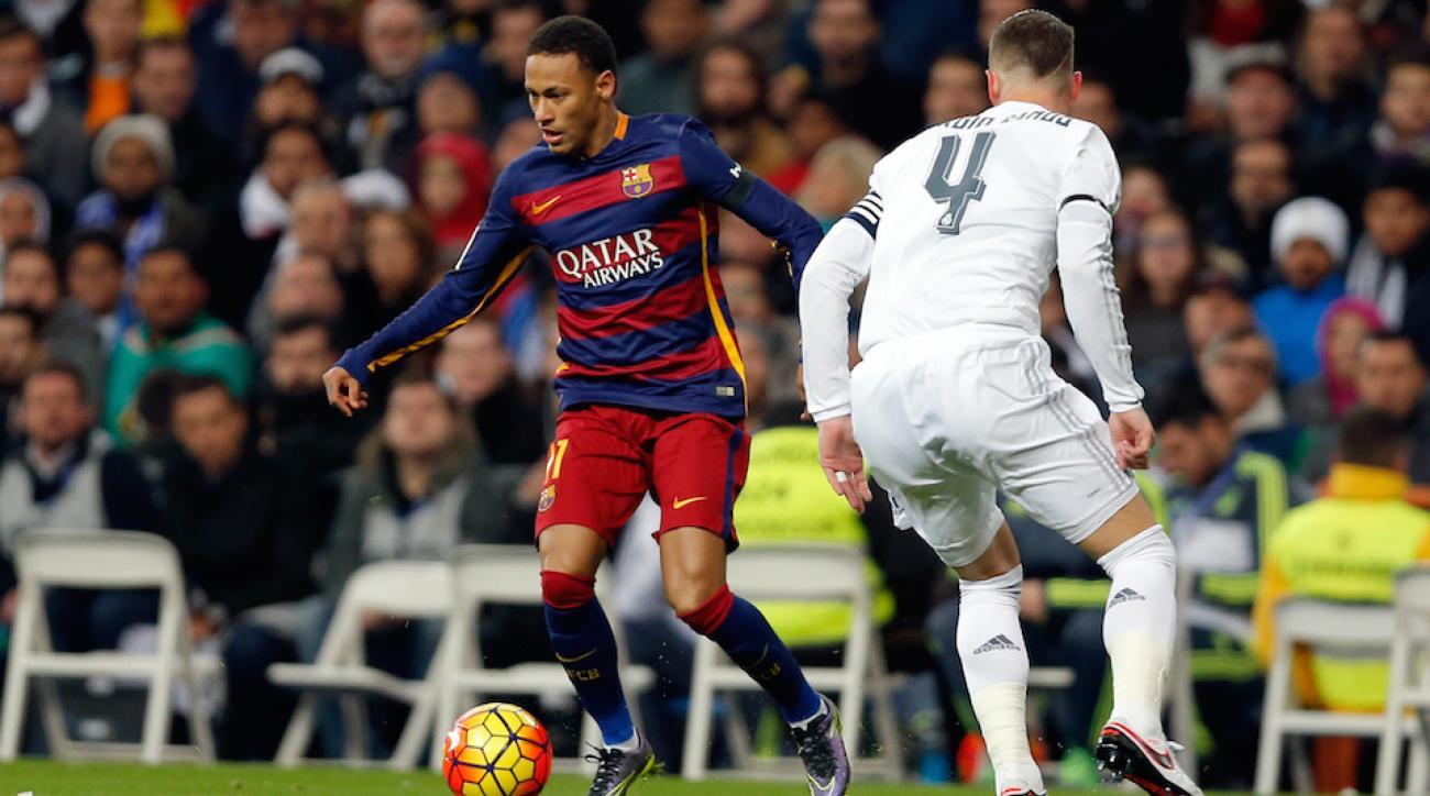el clasico neymar barcelona goal video