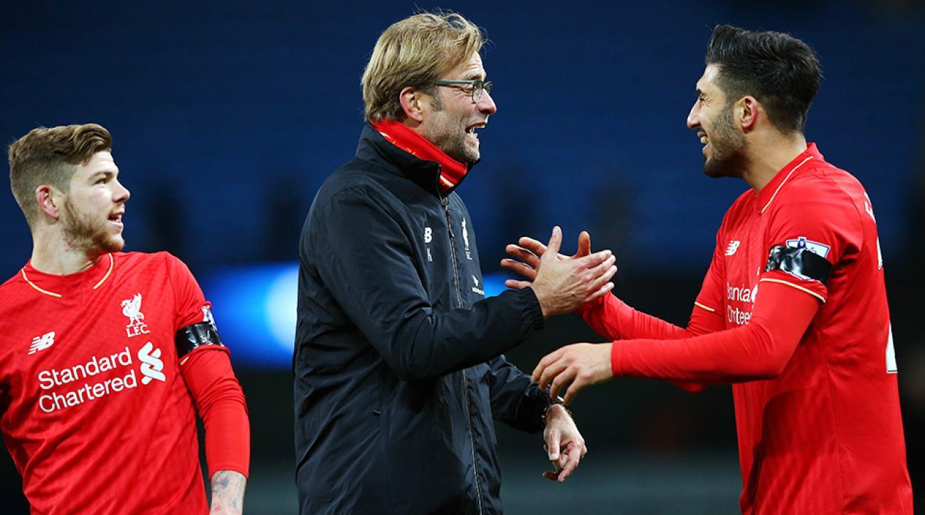 Jurgen Klopp Liverpool Manchester City