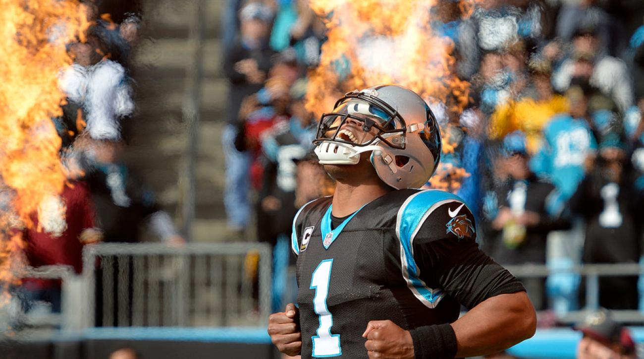 cam newton panthers redskins video highlights