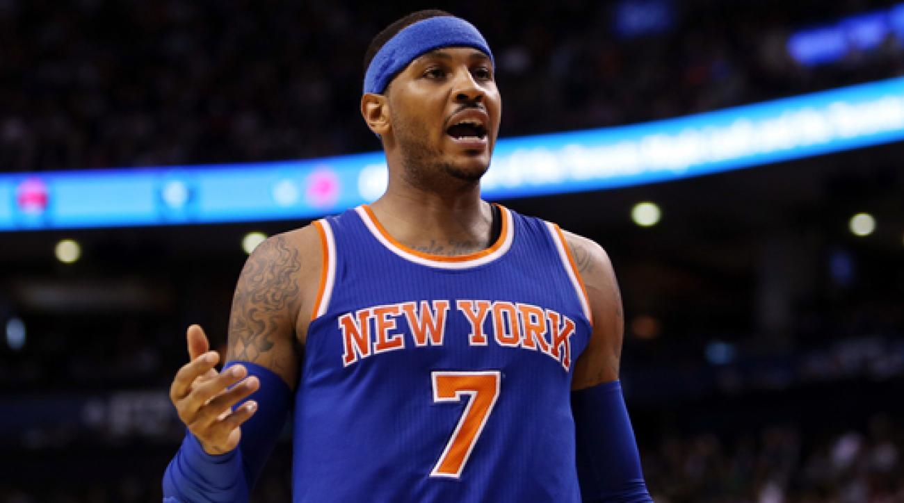 Thunder, Carmelo Anthony Have Mutual Interest""