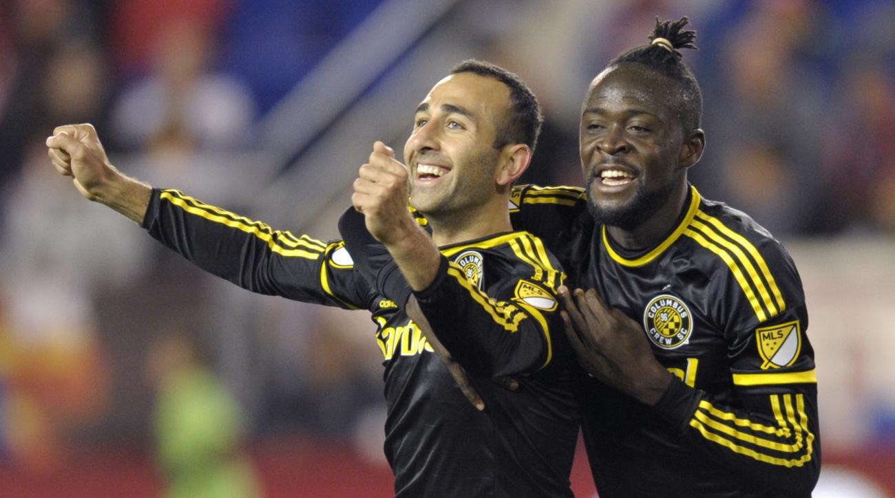 Columbus Crew Justin Meram scores fastest goal MLS playoff history video