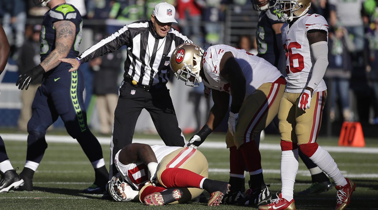 49ers glenn dorsey injury update torn acl