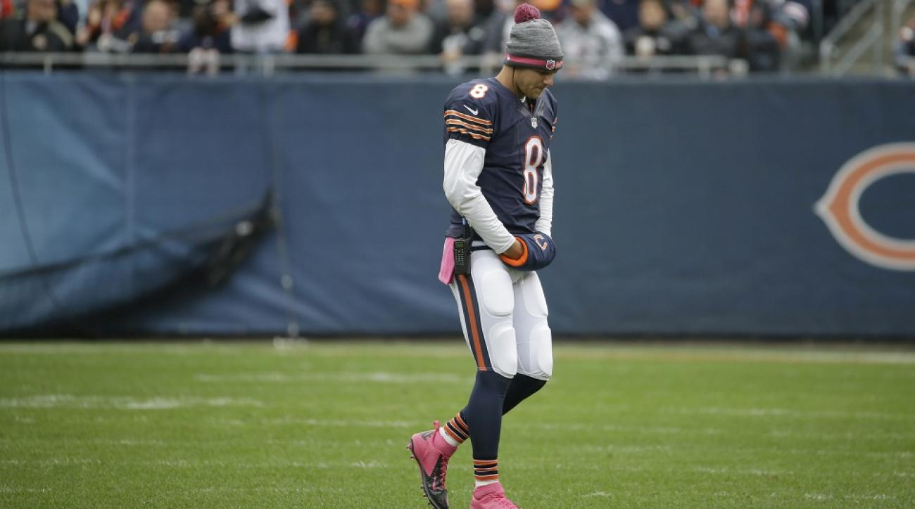 chicago bears release jimmy clausen