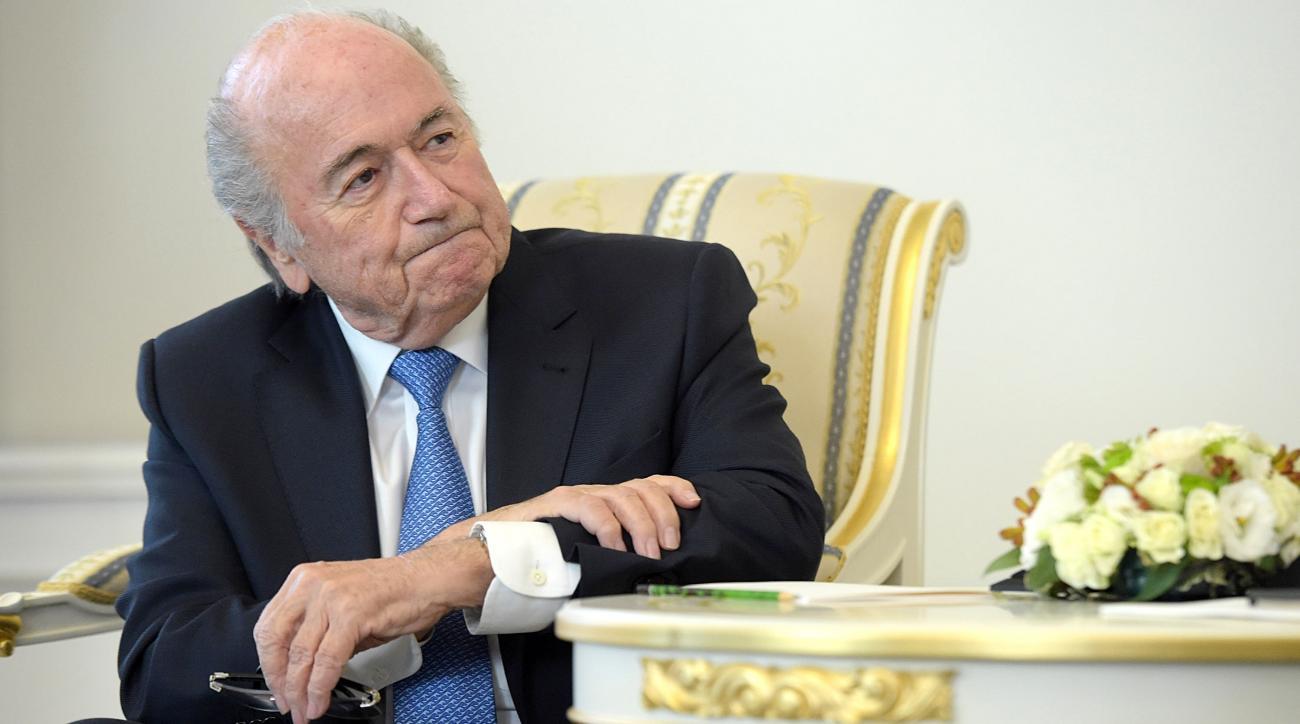 fifa president sepp blatter hospitalized illness