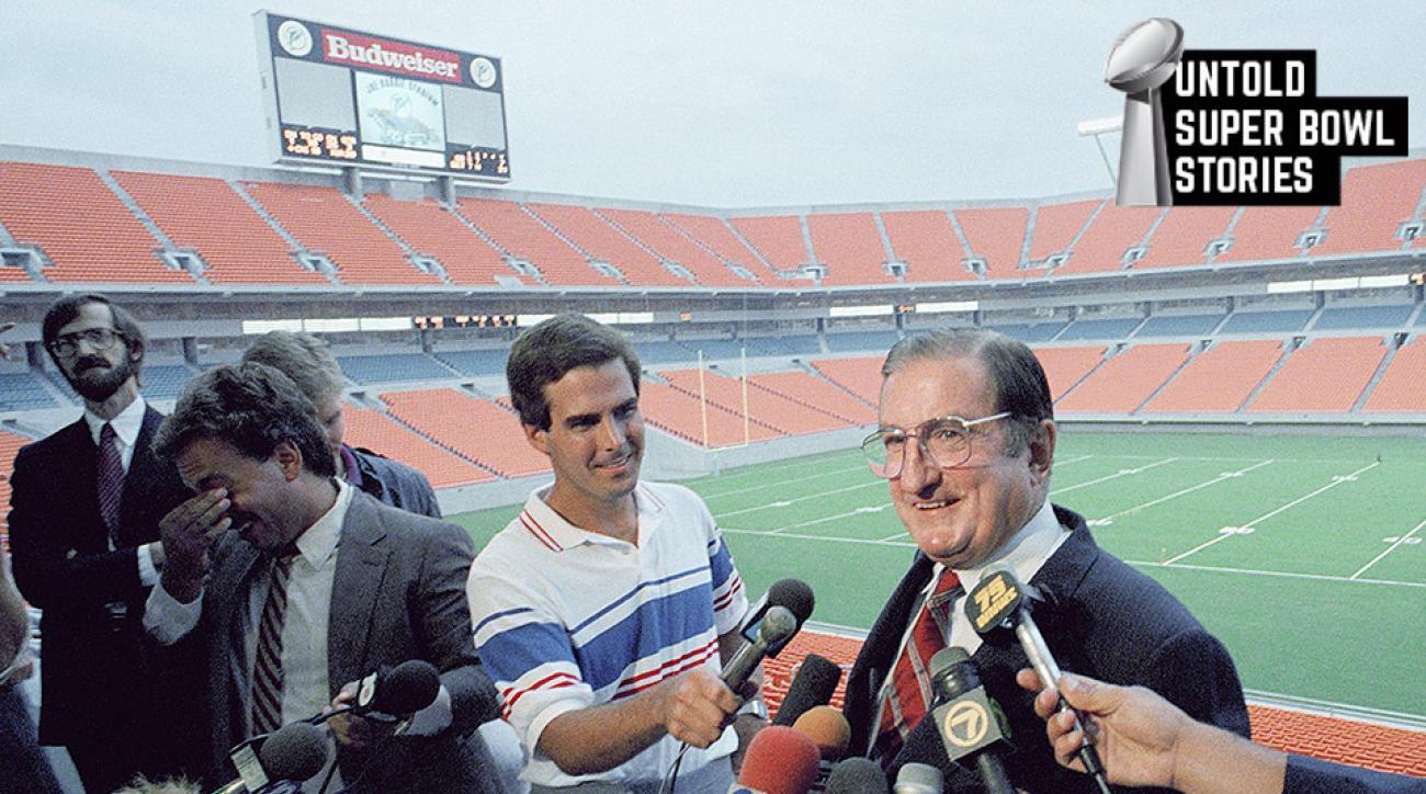Miami Dolphins: Joe Robbie Stadium Super Bowl