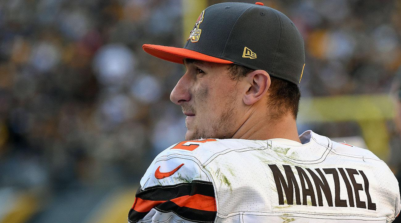 Johnny Manziel is 1-4 as a starter for the Browns in his career, including a 1-2 mark this season.